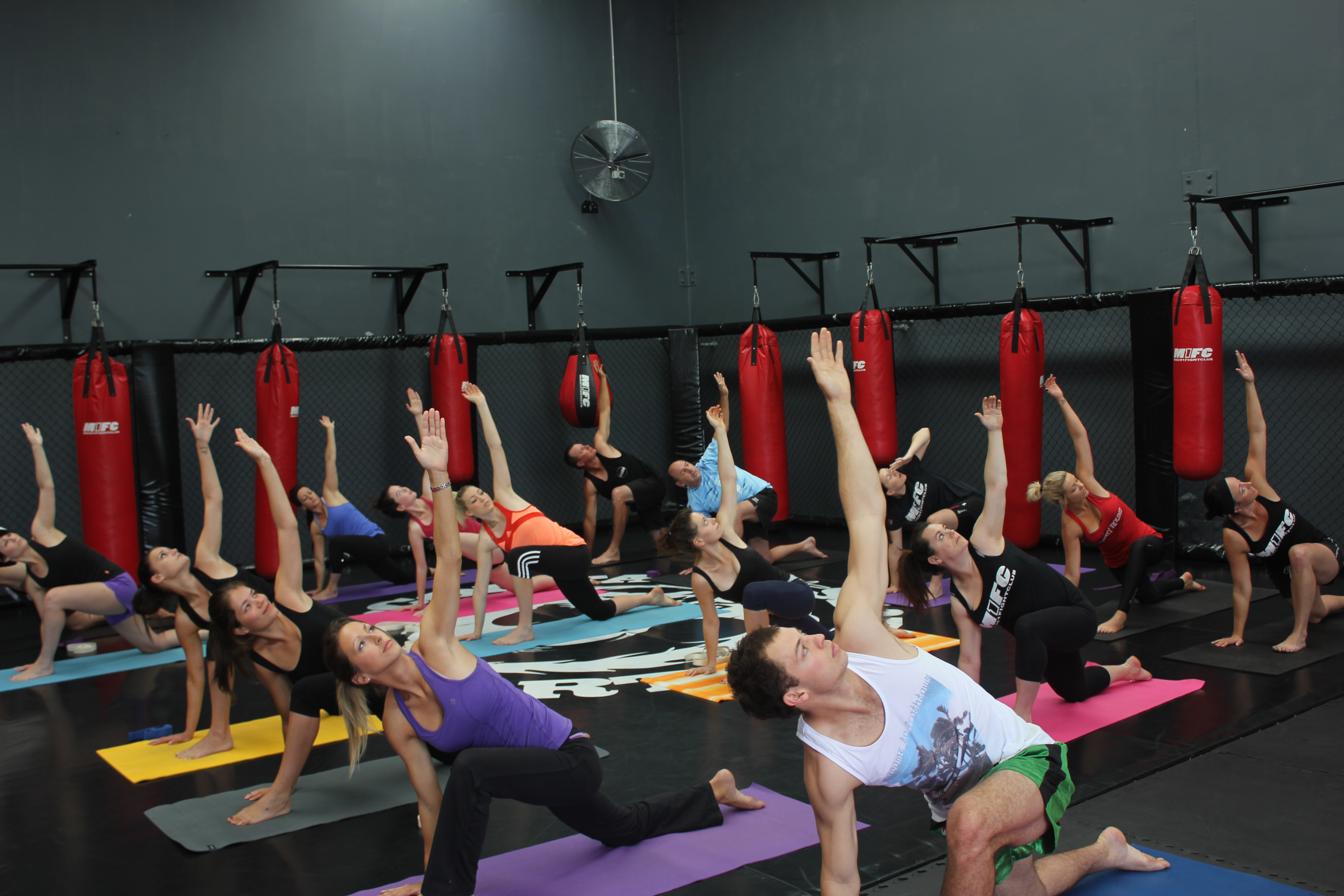 Yoga class in Joondalup at M1FC