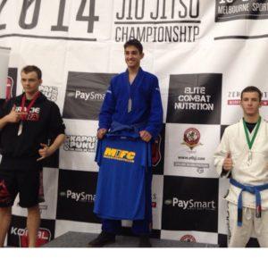 M1FC Team member Marko Ponos wins Gold at BJJ Pan Pacs
