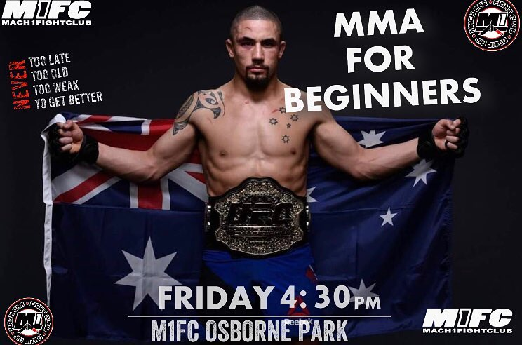 mma for beginners class perth