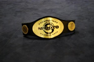 Shooto MMA Title fight in Perth