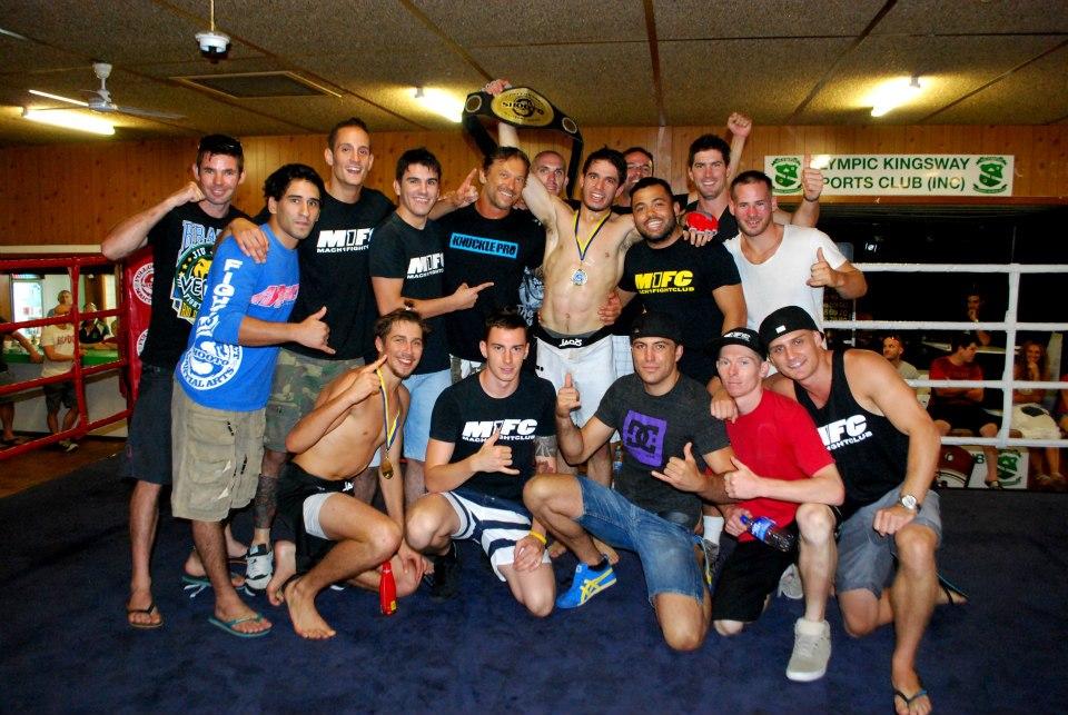 M1FC Jack Becker winning Shooto MMA Title in Perth