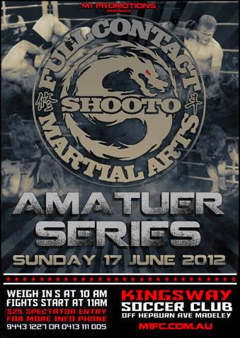Shooto Amateur MMA in Perth - M1FC