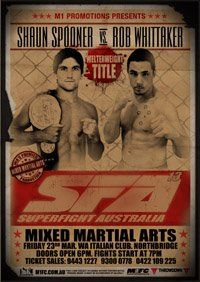 Superfight Australia is back on Friday March 23rd 2012 with the best mma cage fights in perth