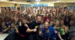 Heidi Anderson and Self Defence Expert Stephen Walton in Perth with HIT929