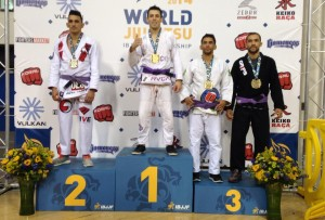 Rod Costa being awarded Bronze medal in World Championships