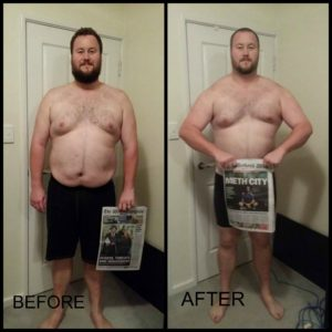 Lewis Weight Loss At M1FC