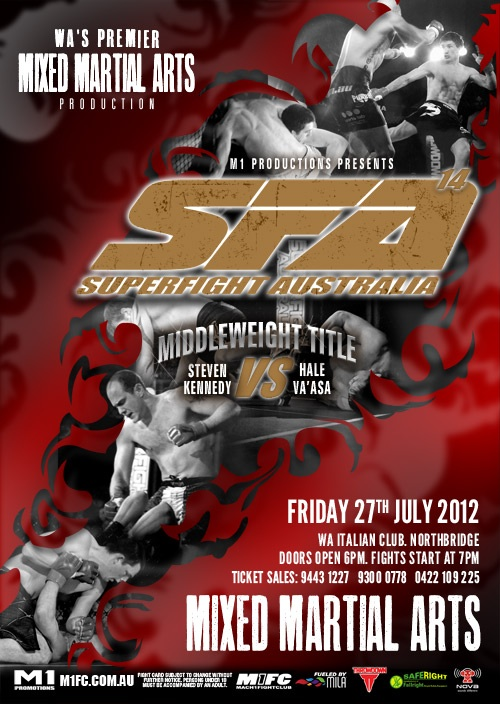 Superfight Australia 14 is back on 27th July 2012, the best MMA fighters will compete