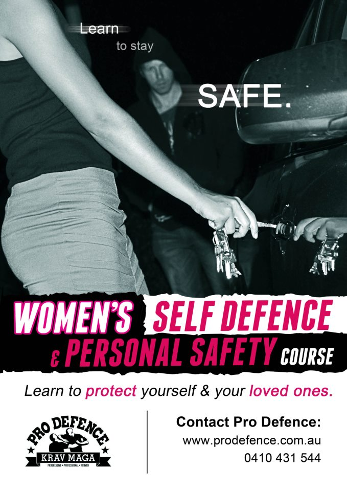 Women's Self Defence and Personal Safety Course Perth
