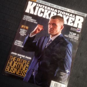 international kickboxer magazine with stephen walton