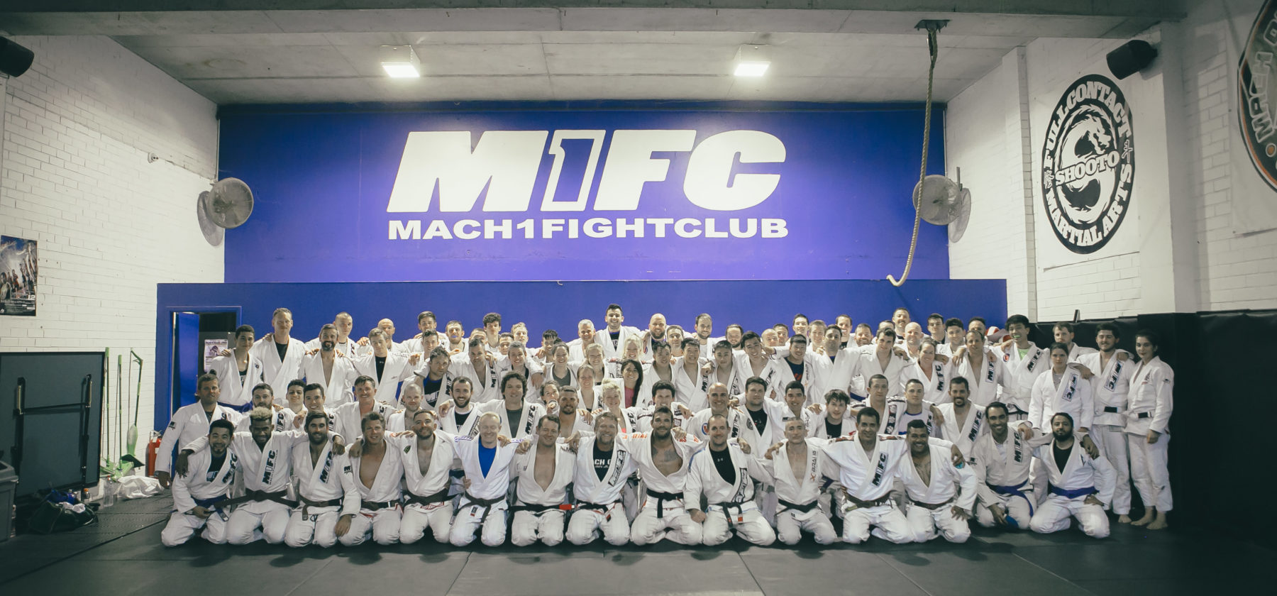 Jiu Jitsu Grading Night at M1FC