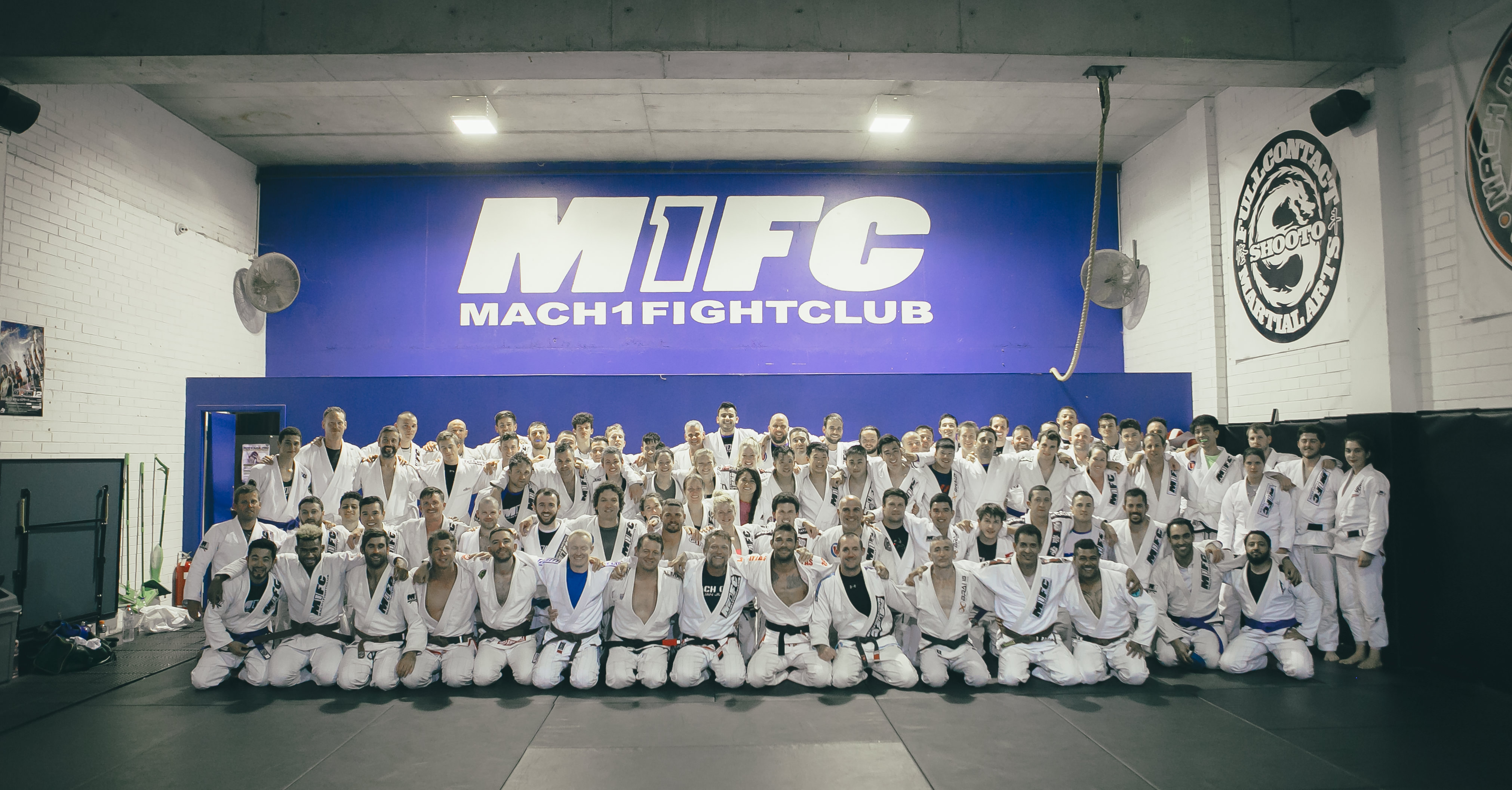 Jiu Jitsu Grading Night at M1FC