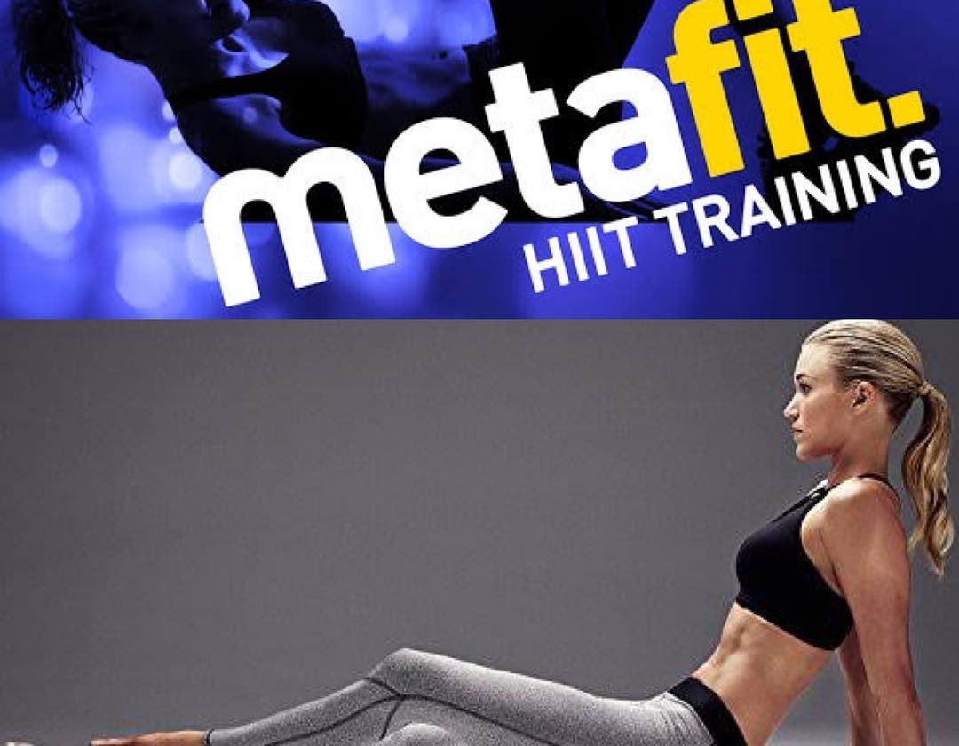 metafit HIIT training class