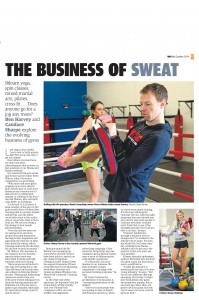 The West Australian Newspaper Article MMA