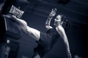 Womens kickboxing Perth
