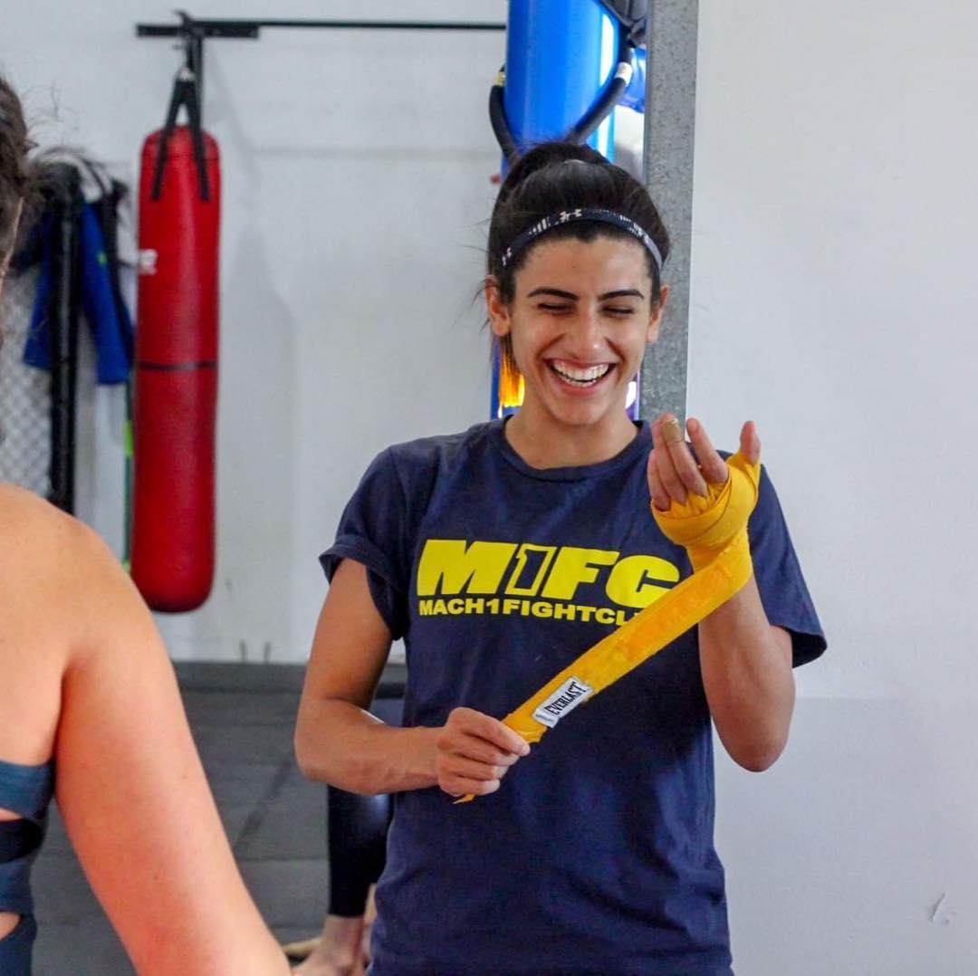 women's martial arts class